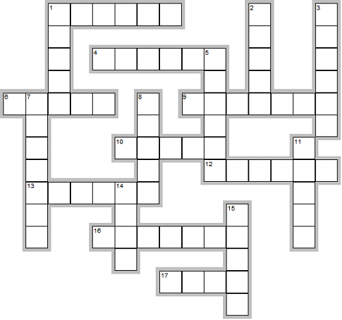A Free Easy Crossword with Scrambled Animals!
