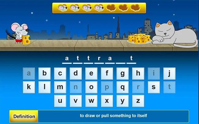 HangMouse VocabularySpellingCity