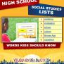 High School Social Studies