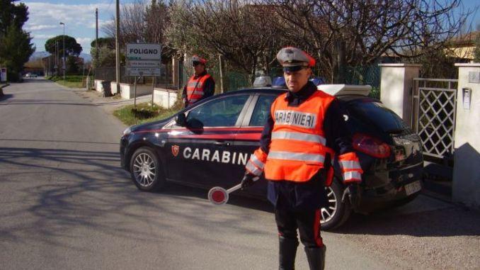 Cannara, perquisizione in casa, Carabinieri trovano droga