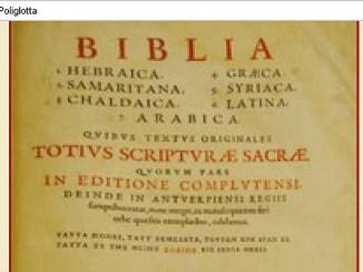 Restaurata la Bibbia Poliglotta del 1645, l'opera sarà presentata a Spello