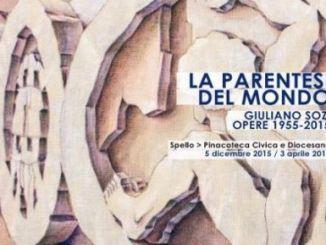 """""""La parentesi del mondo"""" Giuliano Sozi. Opere 1955-2015"""