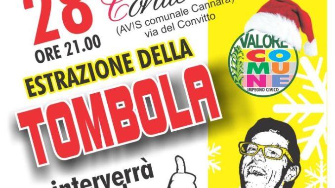 Tombola a Cannara con Leonardo Cenci