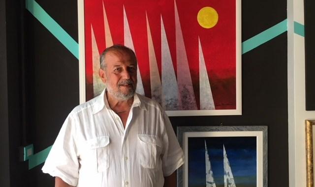 Mostra Andrea Mirabella a Spello opere di espressionismo astratto