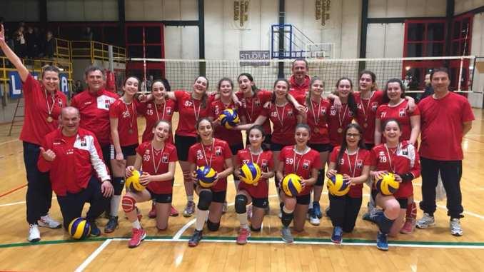 Spello Volley vince il campionato under 14 CSI si è aggiudicata la finale