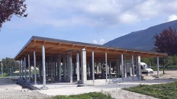 Centro polifunzionale Capitan Loreto, struttura pronta entro giugno
