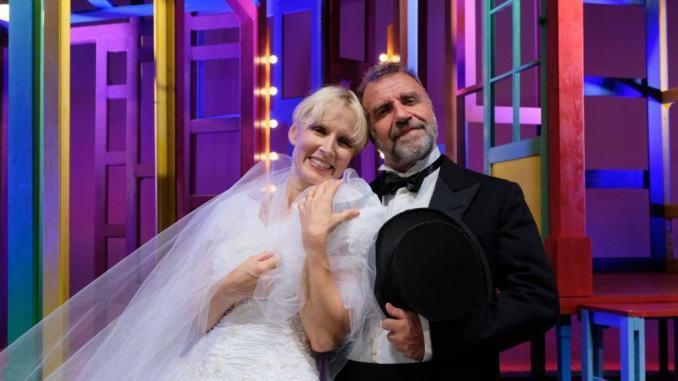 Gaia De Laurentis e Ugo Dighero al Teatro Subasio di Spello