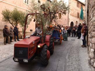 Spello celebra l'olio nuovo con la Festa della Benfinita