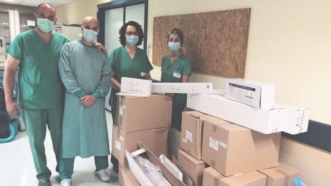 Doni da Pro Limiti di Spello e dalla Federcaccia alla terapia intensiva di Foligno