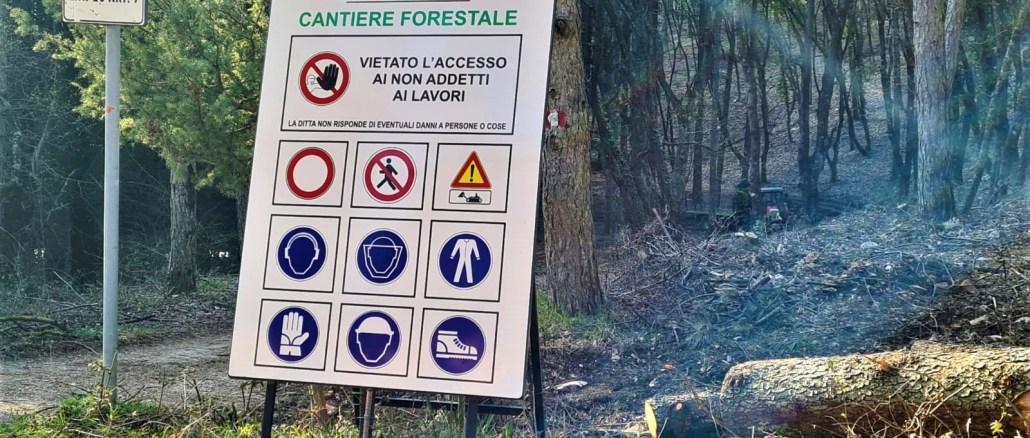Parco Monte Subasio: in corso nel comune Spello interventi manutenzione