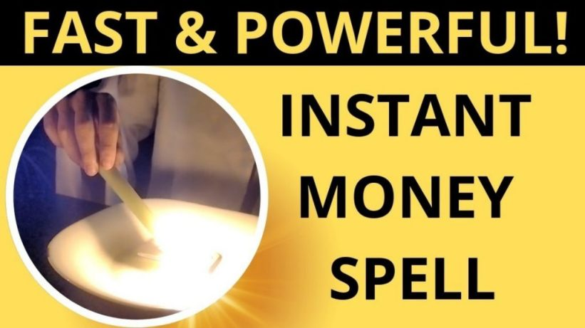Money Spells That Work Immediately