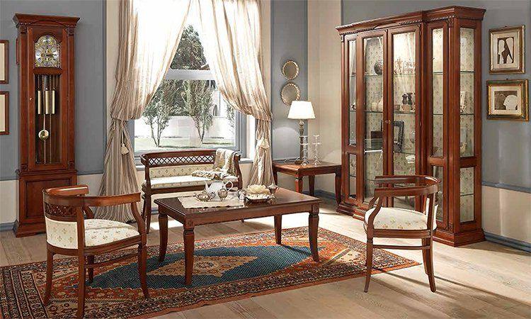 Wohnzimmer Ducale Kirschbaum Komp1