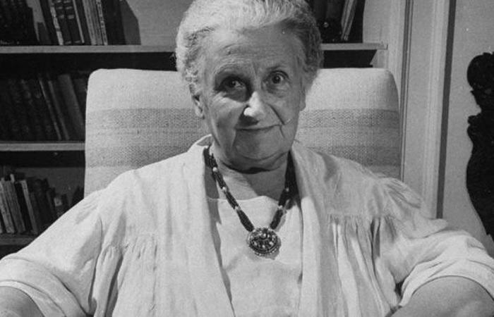 La dott.ssa Maria Tecla Artemisia Montessori
