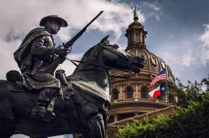 Austin Capitol Statue