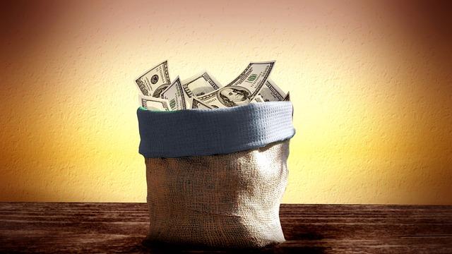 Money bag, run on the bank - Overdraft Fees