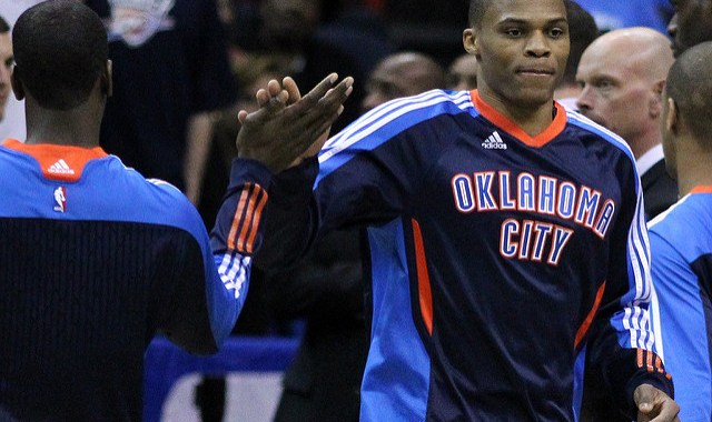 Russell Westbrook has signed a 3 year contract to stay with the Oklahoma City Thunder.