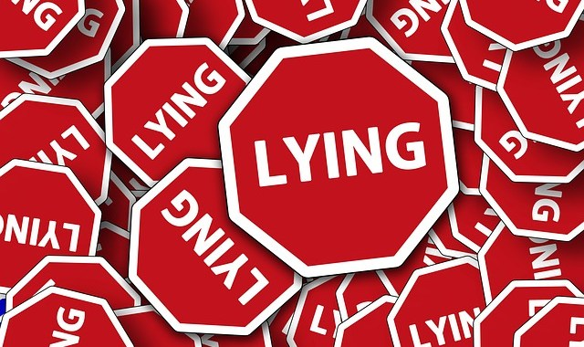 Political Lies won't stop. You need to trust in yourself.