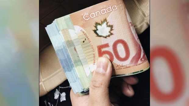 Canadian Money - Not Hugs