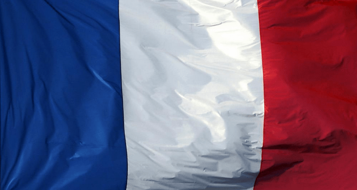 French Flag - Marine Le Pen - French Elections