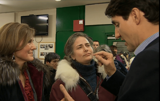 Arrogant Fool Trudeau Lectures Voter On His Electoral Reform Lie
