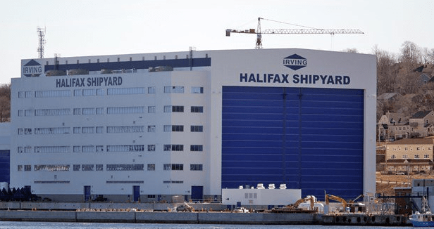 BETRAYAL - Canadian Navy Shipbuilding Jobs Going To Foreign Workers