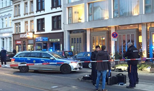 Driver Runs Down Three People Germany