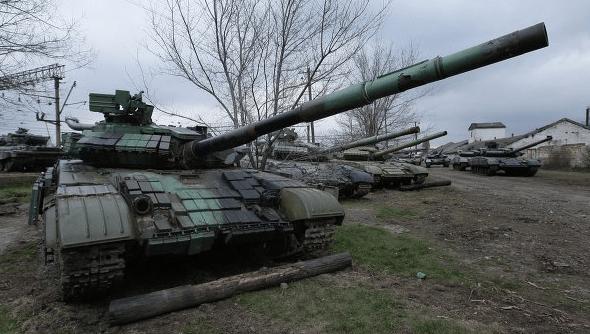 Renewed Violence In East Ukraine