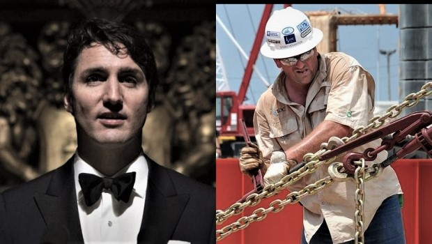 Trudeau the Elitist looks down on Blue-Collar workers