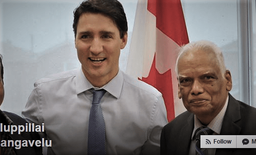 Trudeau Takes Picture With Former VP Of Terrorist Group
