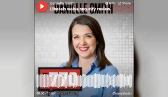 Talking Trudeau & China With Danielle Smith On News Talk 770