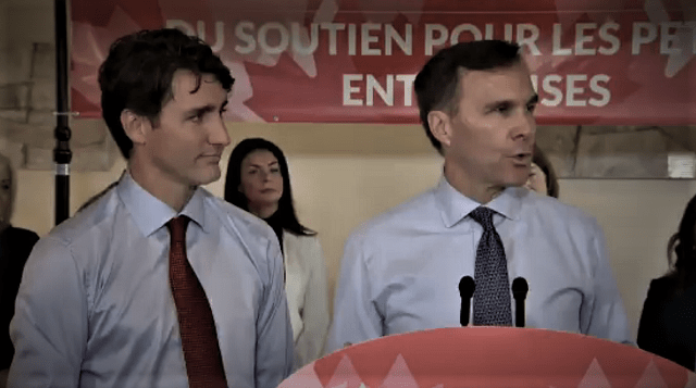 PATHETIC: Trudeau Blames Ethics Commissioner For Moneybags Morneau Not Using Blind Trust