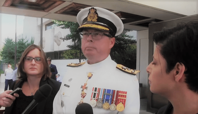 Vice Admiral Mark Norman