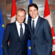 'Post-National Buddies': European Union Elites Really Love Trudeau