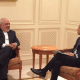 Iranian Foreign Minister Seen Laughing During Meeting With Canadian Officials
