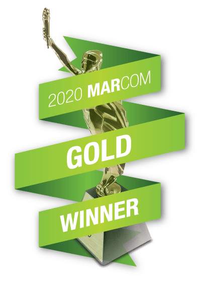 MarCom Gold Winner 2020
