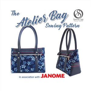 The Atelier Bag PDF sewing pattern