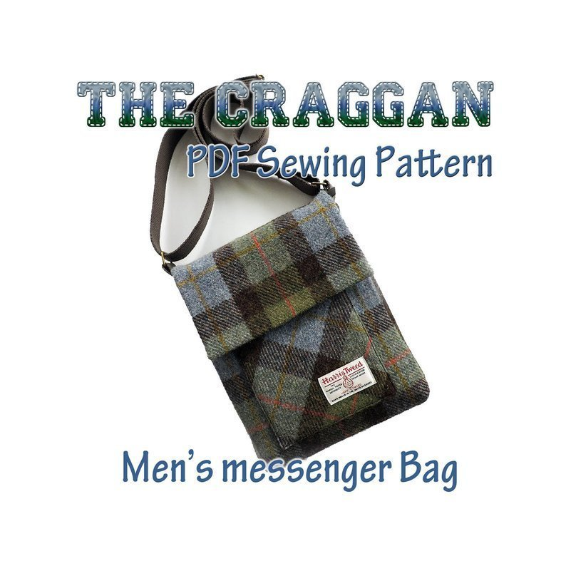 Messenger Bag PDF Pattern