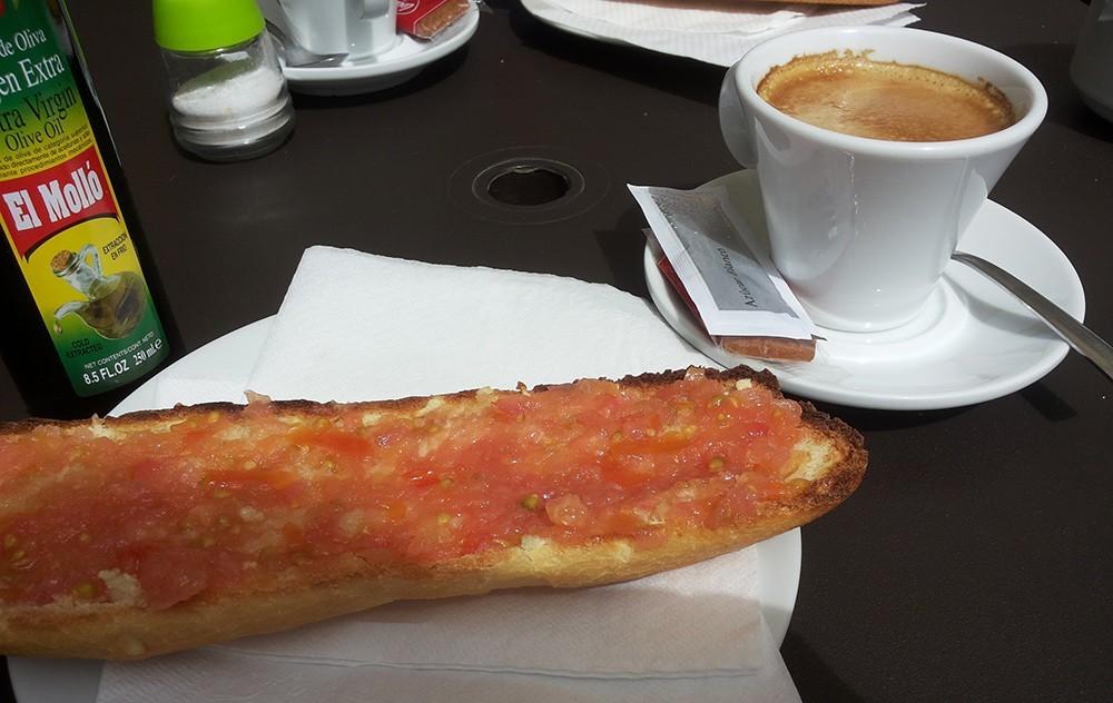 The Perfect Spanish Breakfast!