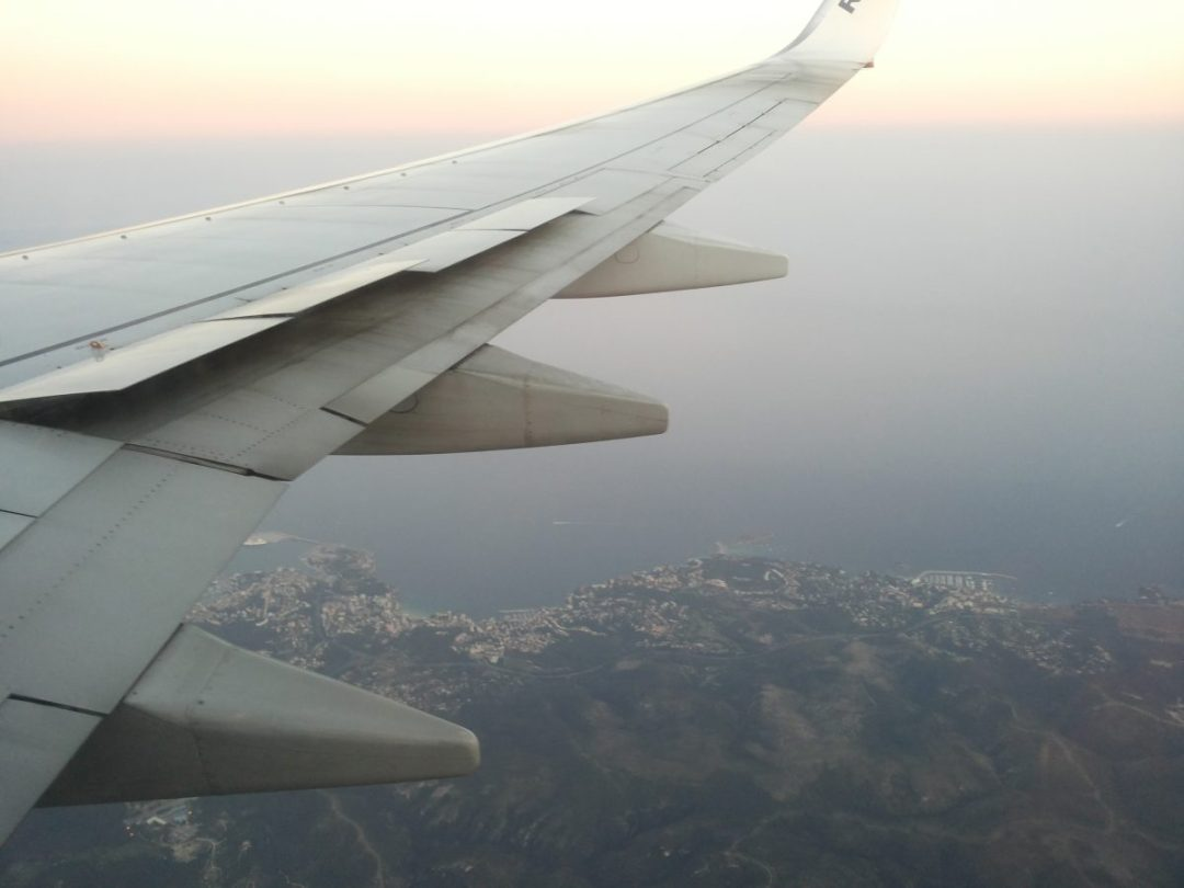 View from the airplane - Spend Life Traveling