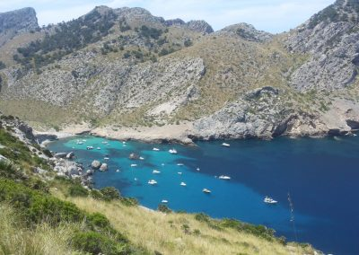 Small bay on Mallorca's north-west coast
