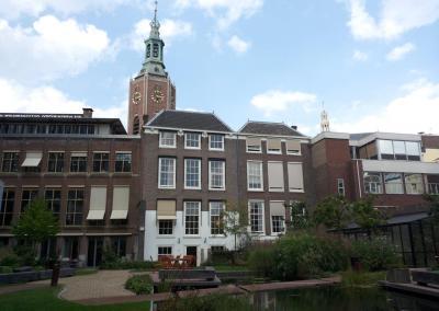 public garden in The Hague