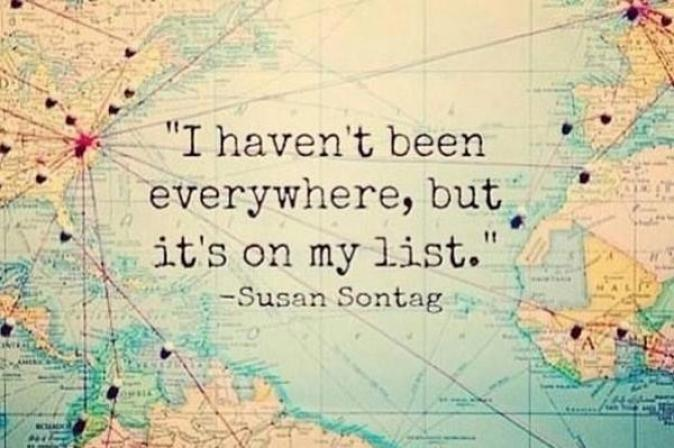 signs you have caught the travel bug