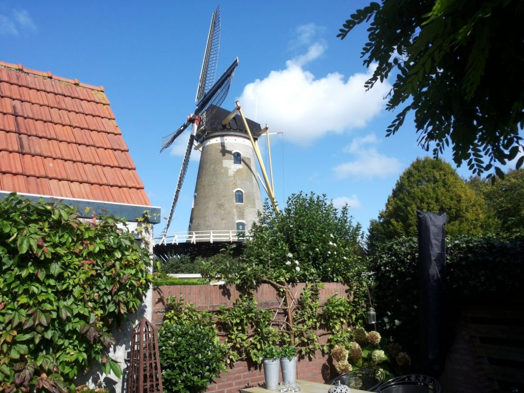 windmill in Middelburg
