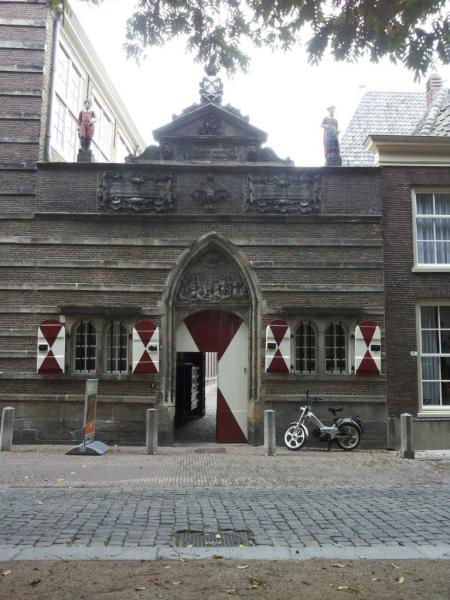 a 1583 orphanage in Leiden