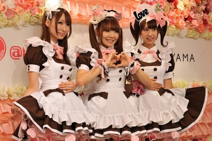 Maid cafe Tokyo, Japan - fun facts about Japan