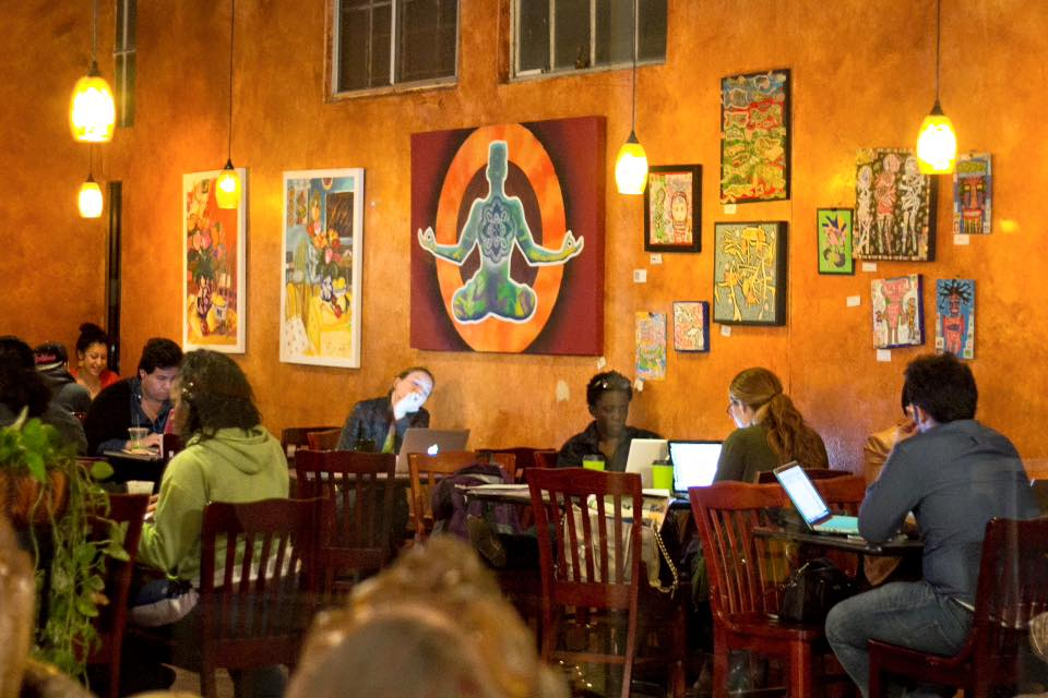 Best coffee shops in San Diego to work / study - Lestat Coffee House for working remotely