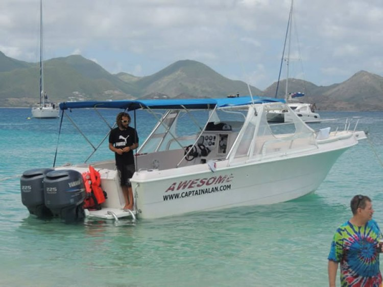 Boat trip St Maarten / St Martin