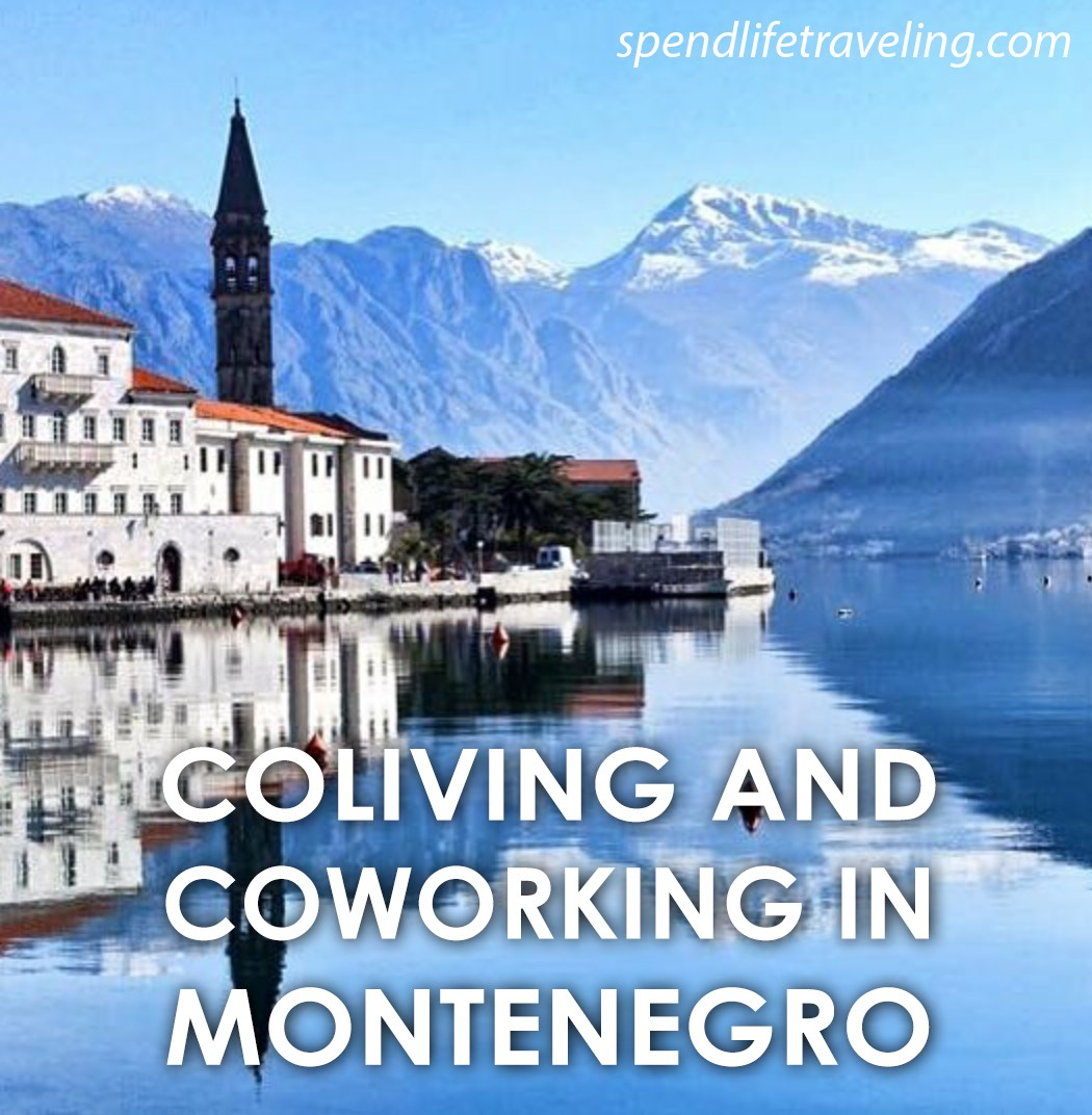 #Coliving and #coworking in #Montenegro.