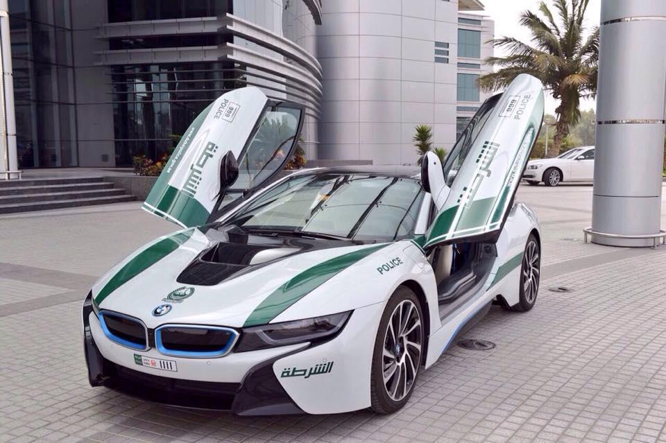 Facts about Dubai: Dubai police force cars