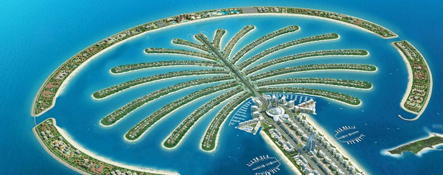 Dubai palm islands